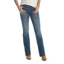 Load image into Gallery viewer, Women's Wrangler Retro Mae Medium Wash Bootcut Jeans