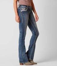 Load image into Gallery viewer, Women's Rock Revival Ena Boot Cut Jeans