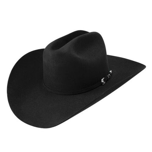 Resistol 6X Ox Bow Black Felt Hat
