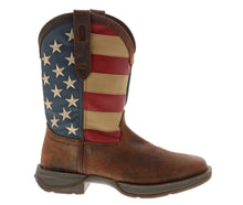 Load image into Gallery viewer, Men's Durango Rebel Patriotic Flag Boot