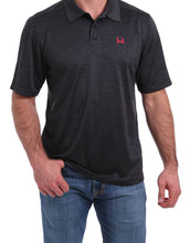 Load image into Gallery viewer, Men's Cinch Grey Arenaflex Polo