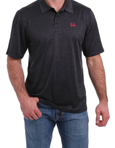 Men's Cinch Grey Arenaflex Polo