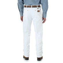 Load image into Gallery viewer, Men's Wrangler White Cowboy Cut Slim Fit Jeans