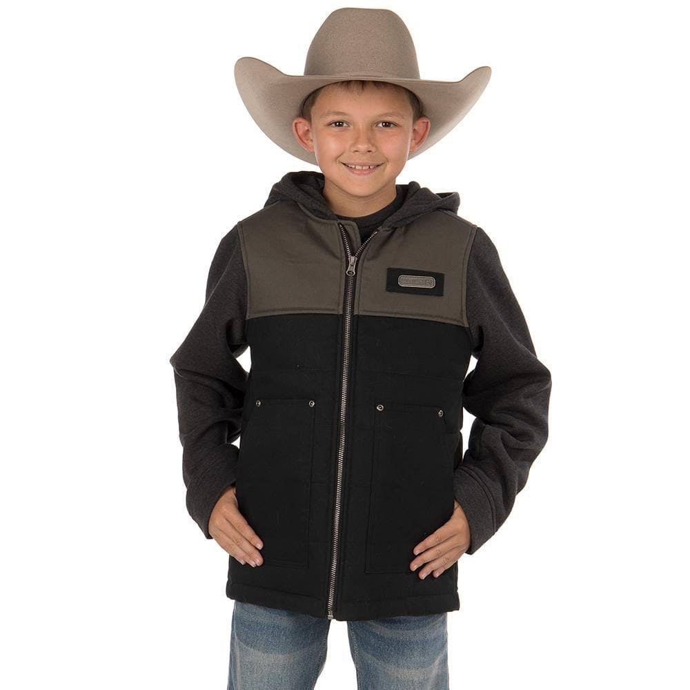 Boy's Cinch Canvas Hoodie Jacket