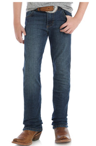 Boy's Wrangler Retro Bozeman Dark Wash Jeans (Sizes 1-7)