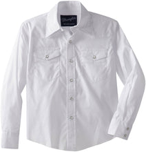 Load image into Gallery viewer, Youth Wrangler 204WHSL White Shirt