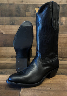 Men's Anderson Bean Black Buffalo Calf Boot