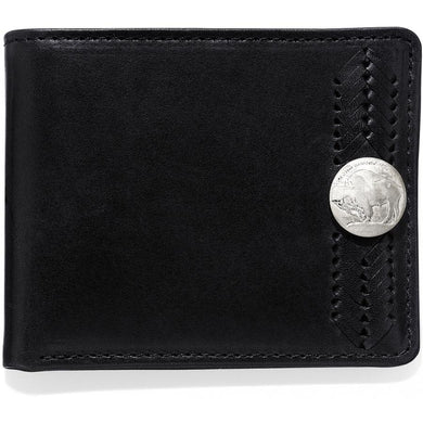Brighton Cody Buffalo Passcase Wallet