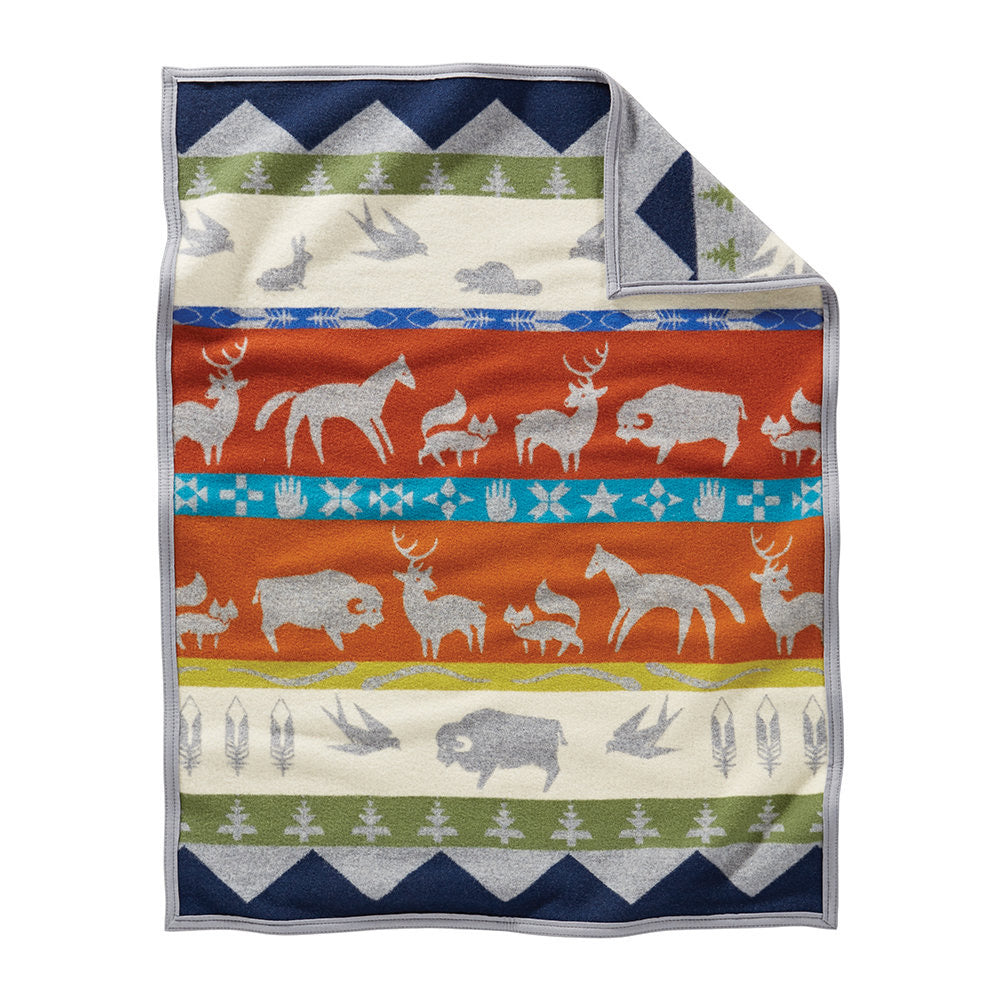 Pendleton Shared Paths Multicolor Blanket