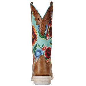 Women's Ariat Circuit Champion Bite the Dust Brown Boot