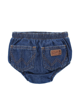 Baby Wrangler Denim Diaper Cover