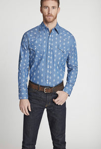 Men's Ely Cattleman Long Sleeve Shirt 15285911-DN