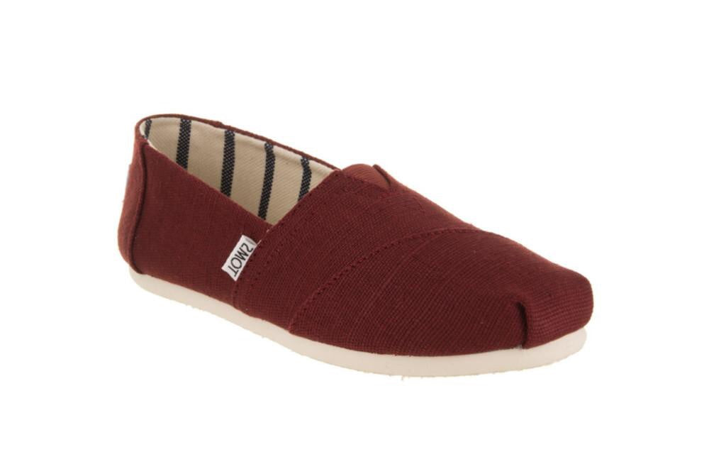 Women's Toms Classic Black Cherry Heritage Canvas