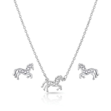 Montana Silversmiths All The Pretty Horses Jewelry Set