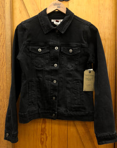 Women's Stetson Black Stretch Denim Jacket