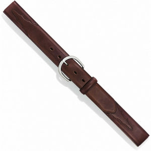 Men's Justin Classic Western Brown Oil Belt