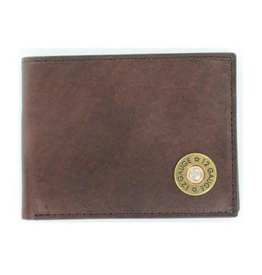 Nocona 12 Gauge Bi-Fold Leather Wallet