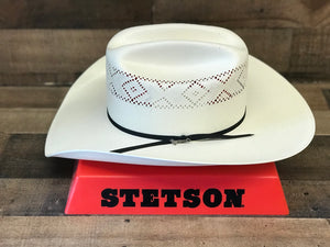 Stetson 10X Saddleman Straw Hat
