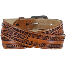 Load image into Gallery viewer, Men's Tony Lama Wild Bill Brown Belt