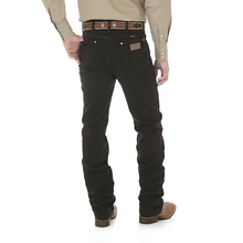 Load image into Gallery viewer, Men's Wrangler Black Chocolate Cowboy Cut Slim Fit Jeans