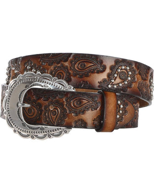 Women's Tony Lama Paisley Belt