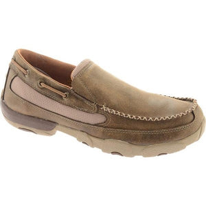 Men's Twisted X Brown Slip-On Driving Moc