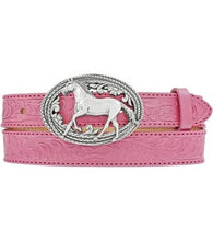 Load image into Gallery viewer, Kid's Justin Pink Lil Beauty Belt