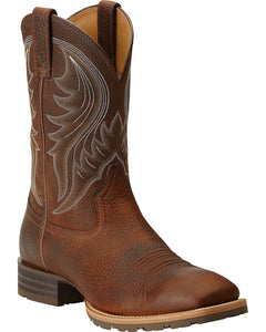 Men's Ariat Brown Hybrid Rancher Boots