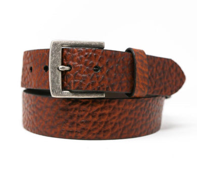 Men's Vintage Bison Peanut Chaparral Belt