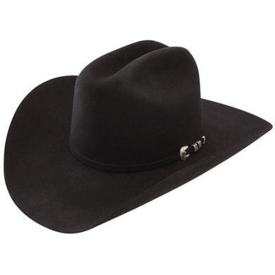 Stetson 6X Black Bar None Felt Hat