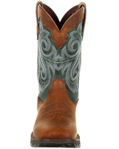 Women's Durango Lady Rebel Brown Evergreen Boot