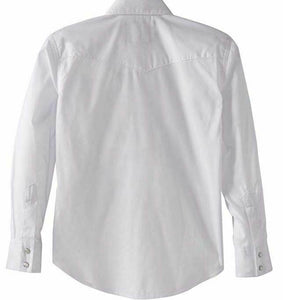 Youth Wrangler 204WHSL White Shirt