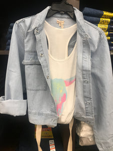 Hem & Thread Denim Jacket