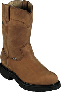 Men's Justin Transcontinental Brown Gore Tex Boots