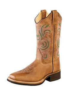 Women's Old West Tan Fry Boots