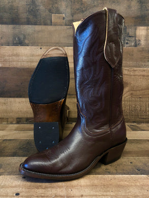 Men's Anderson Bean Chocolate Buffalo Calf Boots