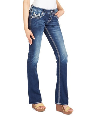 Women's Rock Revival Pollard Boot Cut Jeans