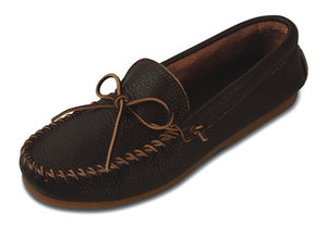 Men's Minnetonka Dark Brown Street Moccasin