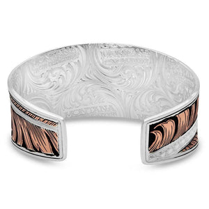 Montana Silversmiths Hope's Feather Cuff Bracelet