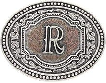 Load image into Gallery viewer, Montana Silversmiths Initial Two-Tone Attitude Buckle