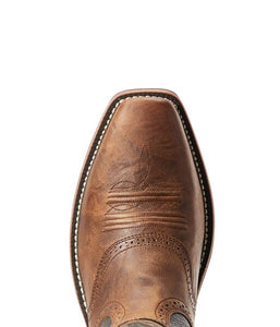 Men's Ariat Heritage Roughstock Sorrel Crunch Boots