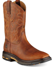 Load image into Gallery viewer, Men's Ariat Workhog Toast Square Toe Boots