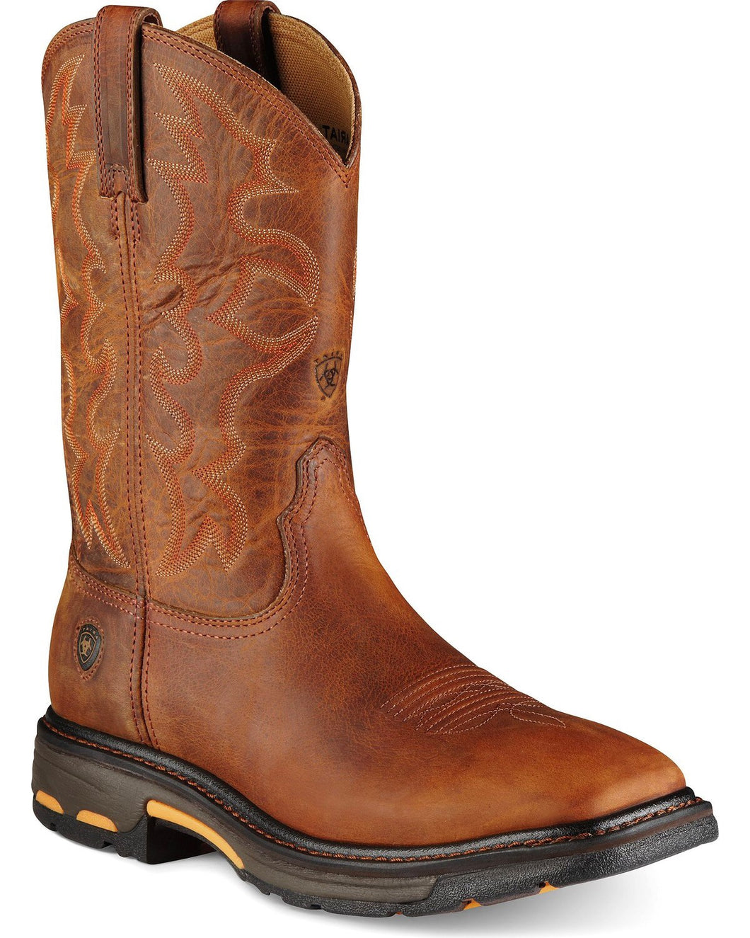 Men's Ariat Workhog Toast Square Toe Boots