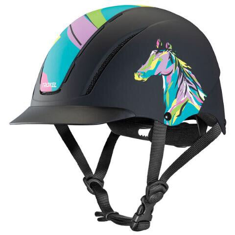 Troxel Spirit Pop Art Pony Helmet