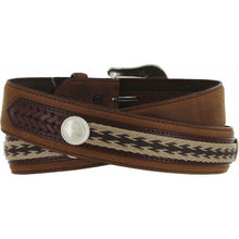 Load image into Gallery viewer, Men's Tony Lama The Duke Brown Belt
