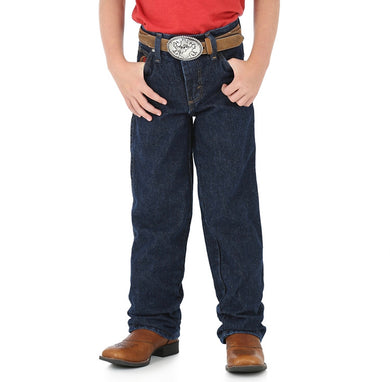 Boy's Wrangler 20X Relaxed Fit Jeans (Sizes 8-16)