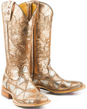 Load image into Gallery viewer, Women's Tin Haul Mish and Mash Metallic Boots