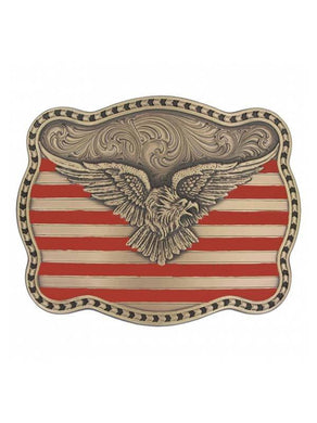 Montana Silversmiths American Eagle Miner's Buckle
