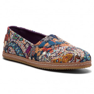 Women's Toms Classic Liberty Paisley and Thorpe on Leather