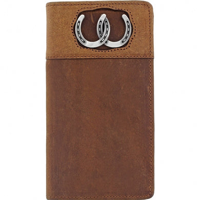 Silver Creek Double Luck Checkbook Wallet